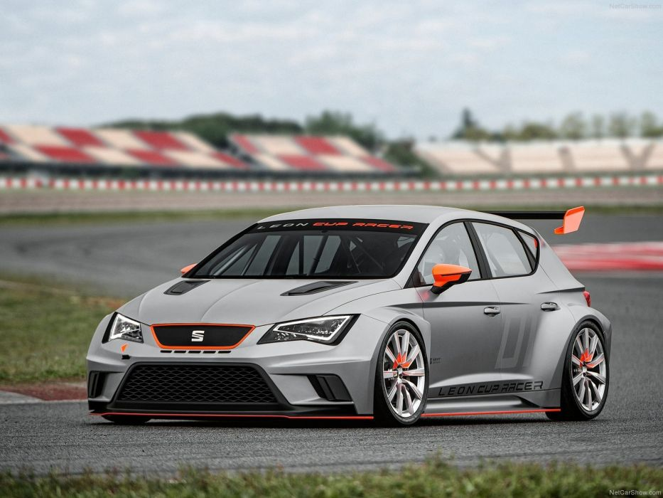 Seat Leon Cup Racer Concept 2013 wallpaper