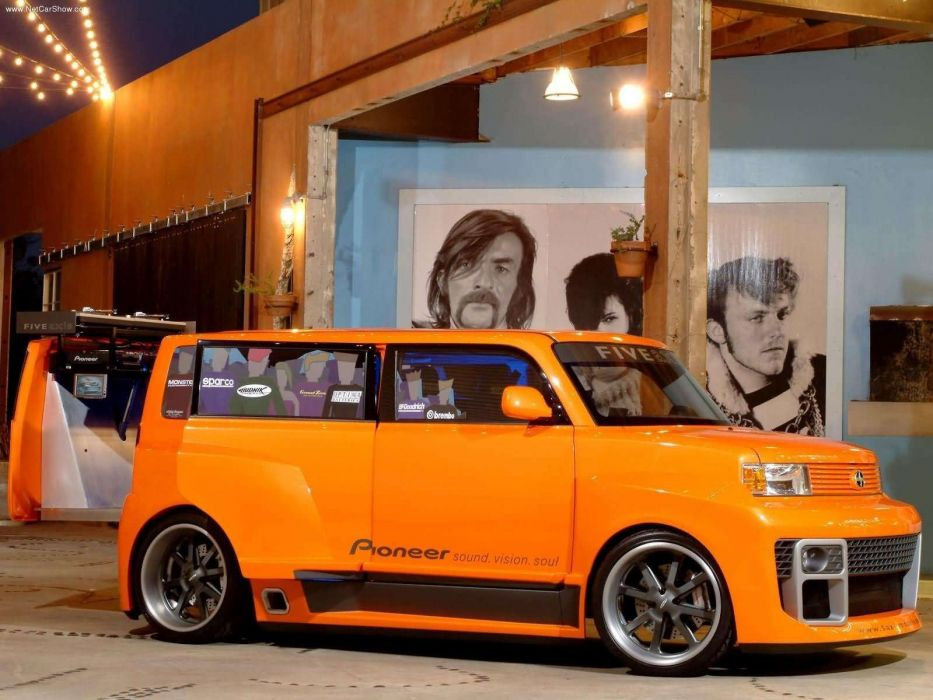 Scion 5 Axis Widebody DJ xB 2005 wallpaper