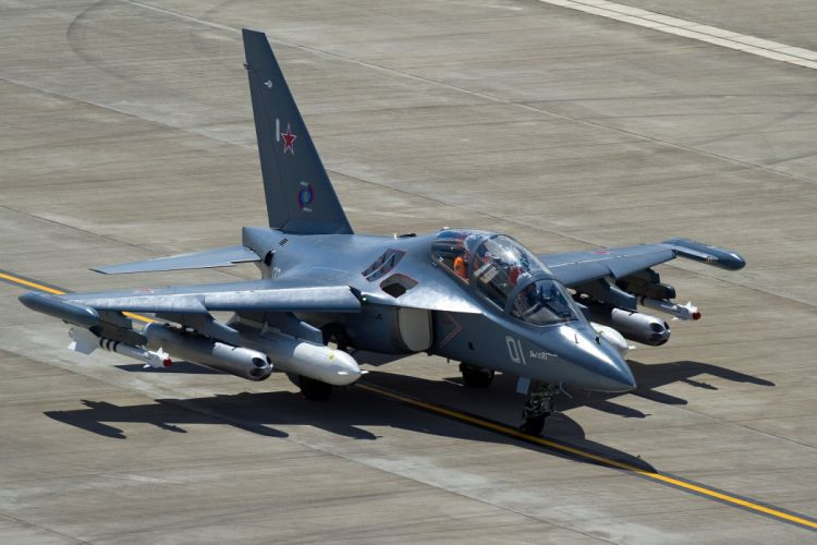 aircraft the Yak-130 combat trainer jet military wallpaper
