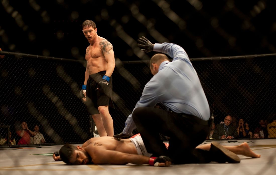 Tom Hardy Warrior Mma Ufc Mixed Martial Arts Fighter Wallpaper