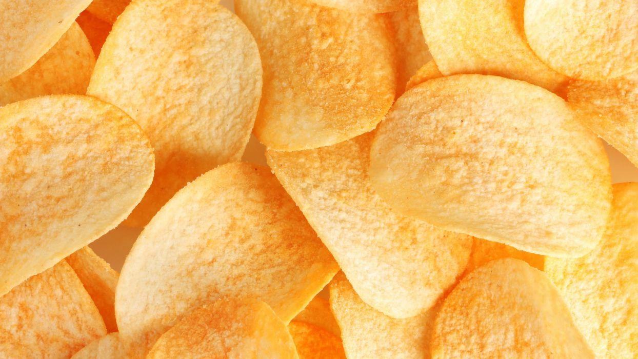 potatoes chips wallpaper
