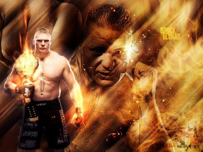 UFC brock lesner mma martial fighting (19) wallpaper