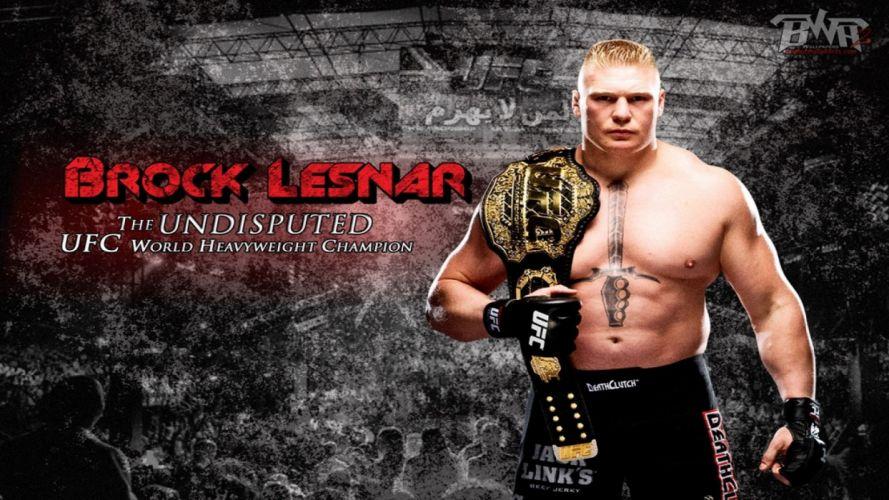 UFC brock lesner mma martial fighting (28) wallpaper
