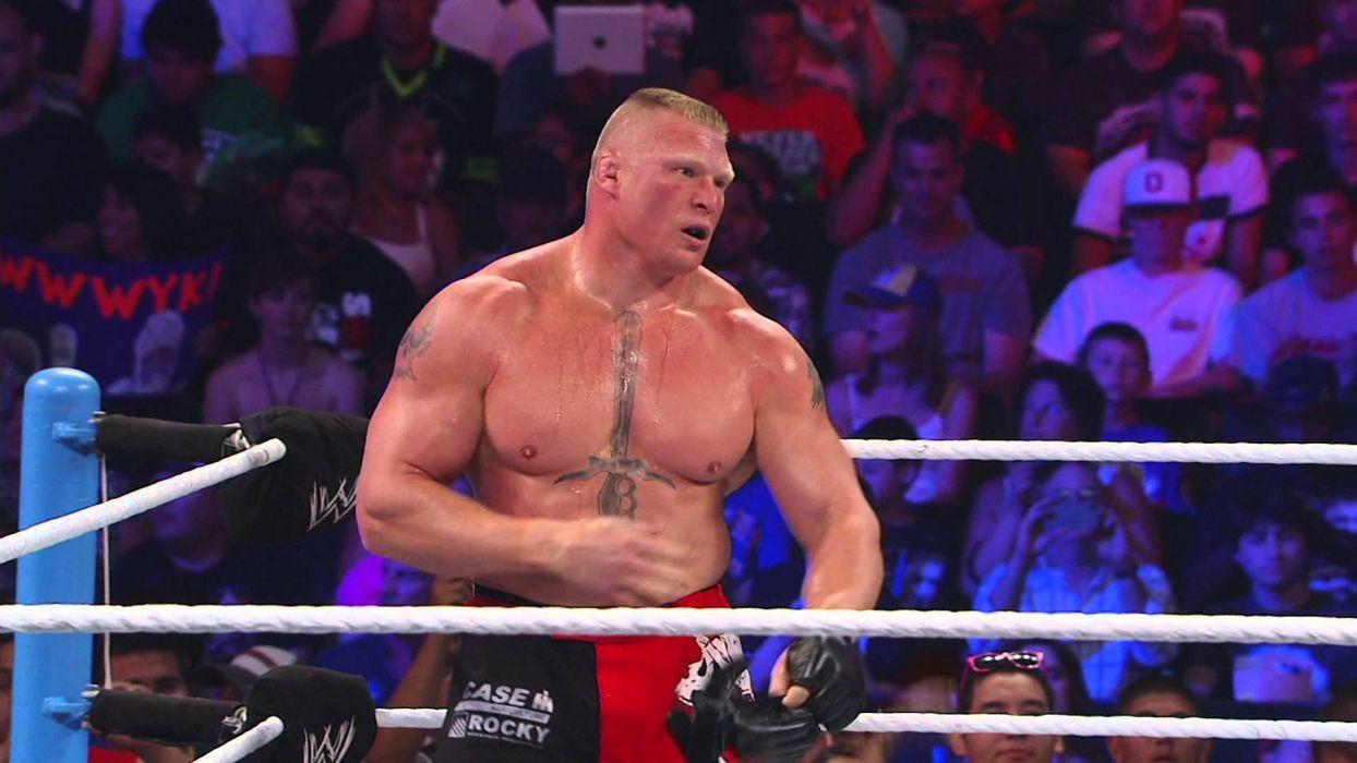 WWE brock lesner wrestling fighting (5) wallpaper