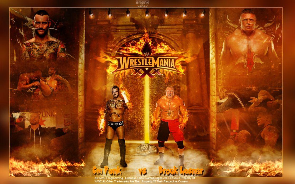 WWE brock lesner wrestling fighting (4) wallpaper