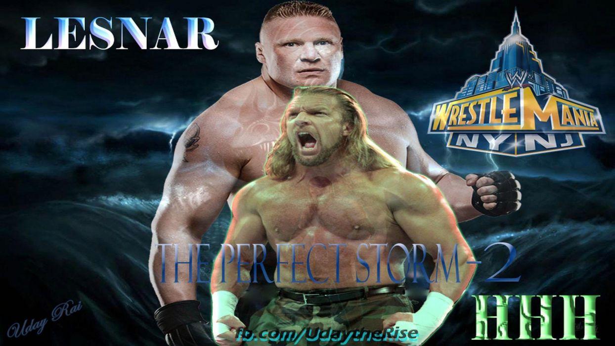 WWE brock lesner wrestling fighting (13) wallpaper