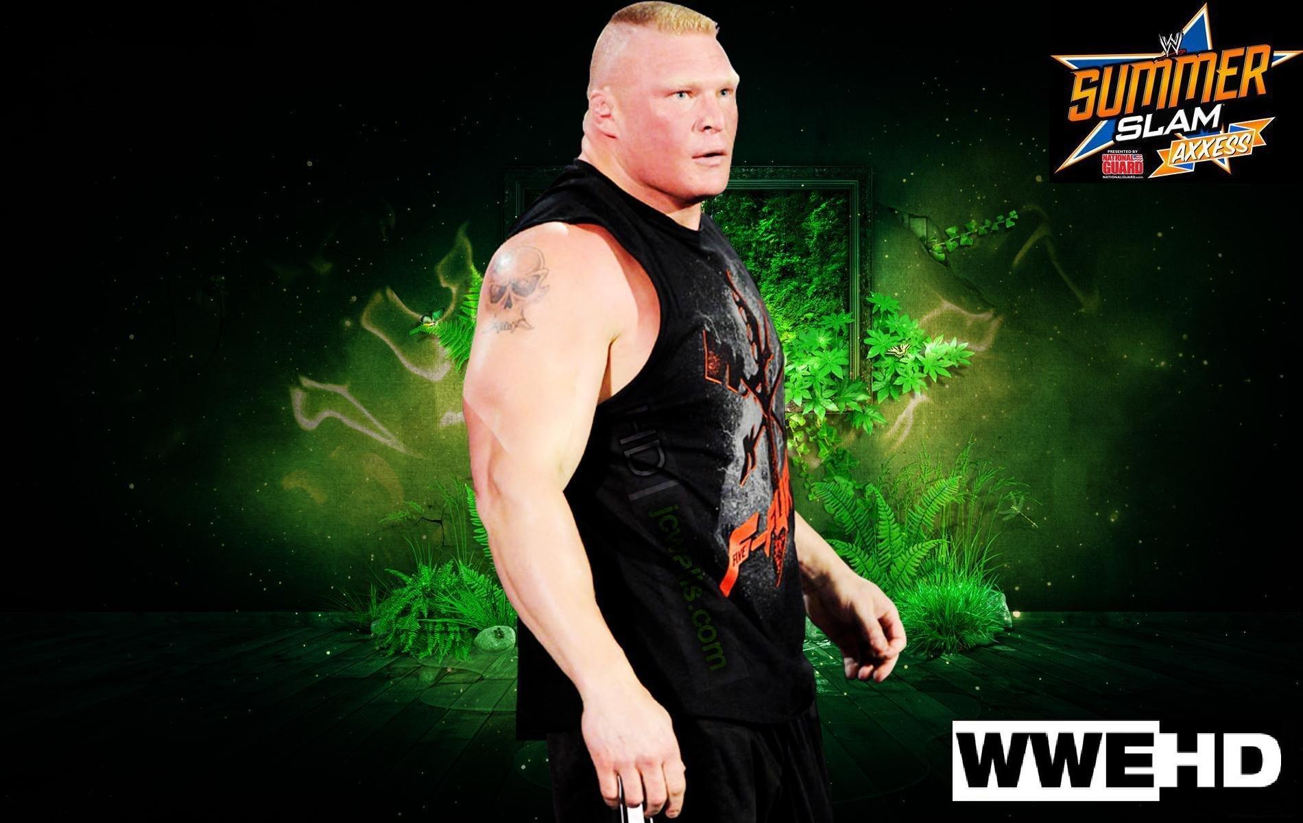 WWE Brock Lesner Wrestling Fighting 14 JPG Wallpaper