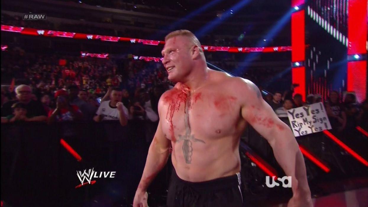 WWE brock lesner wrestling fighting (16) wallpaper
