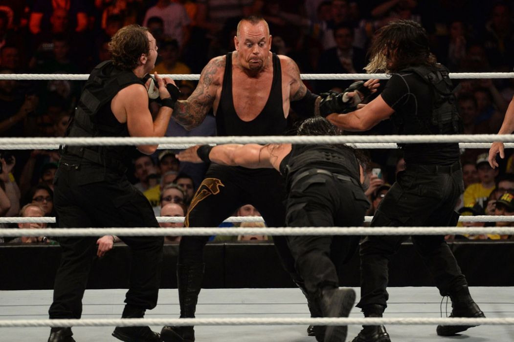 WWE wrestling fighting h wallpaper