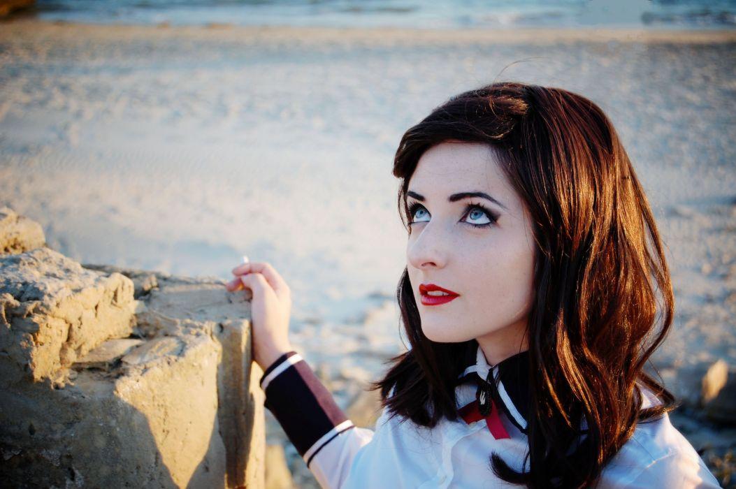 Elizabeth - Bioshock-Infinite: Burial-at-Sea Cosplay wallpaper
