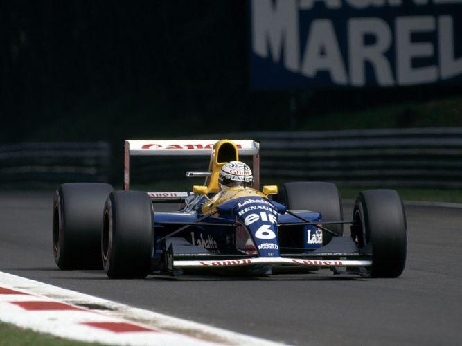 1992 Formula1 Williams FW14B Race Car Racing 4000x3000 wallpaper