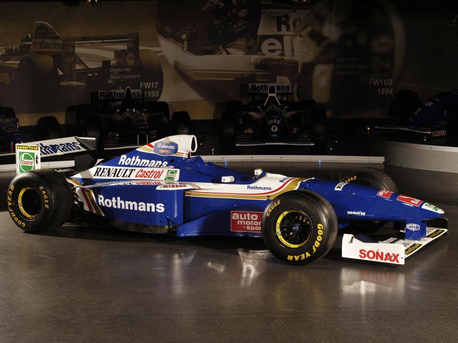 1997 Formula1 Williams FW19 Race Car Racing 4000x3000 wallpaper