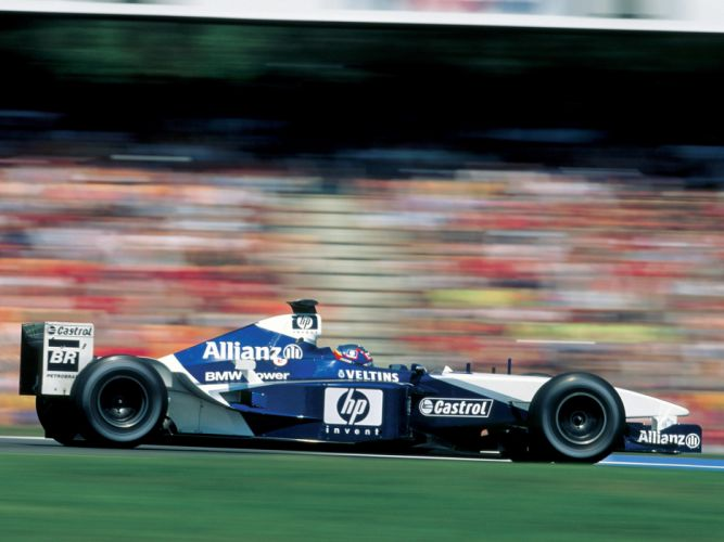 2002 Formula1 Williams FW24 Race Car Racing 4000x3000 wallpaper