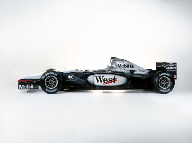 2002 Formula1 McLaren MP4-17 Race Car Racing 4000x3000 wallpaper
