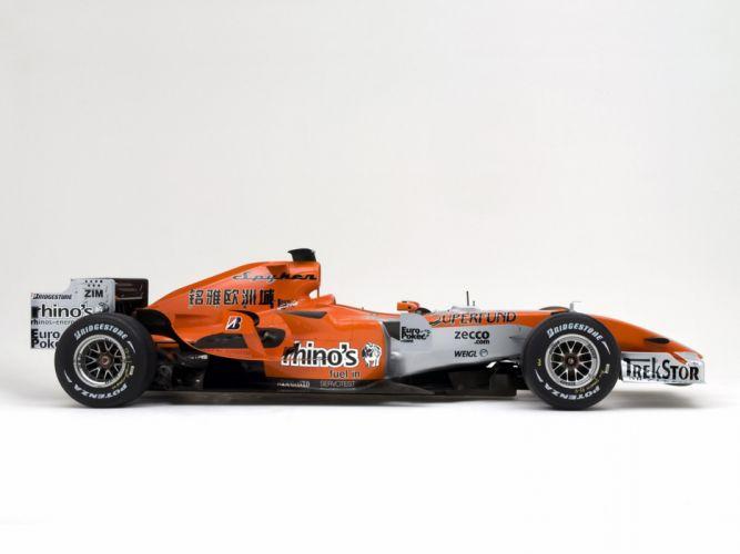 2006 Formula1 Spyker MF1 Race Car Racing 4000x3000 wallpaper