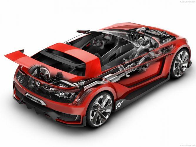 Volkswagen GTI Roadster Concept 2014 Car Supercar Germany Playstation Wallpaper Game 4000x3000 wallpaper