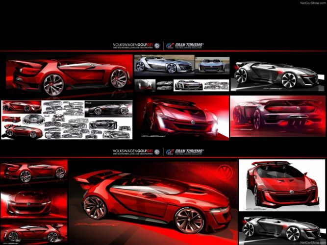 Volkswagen GTI Roadster Concept 2014 Car Supercar Germany Playstation Wallpaper Game 4000x3000 wallpaper