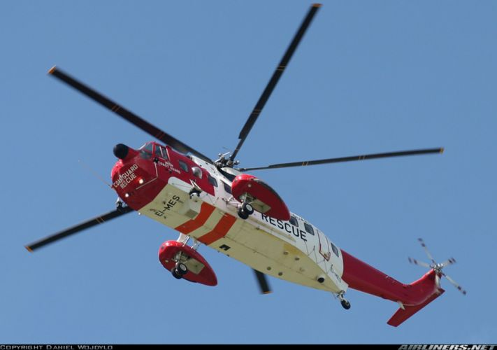 helicopter aircraft rescue coast guard wallpaper