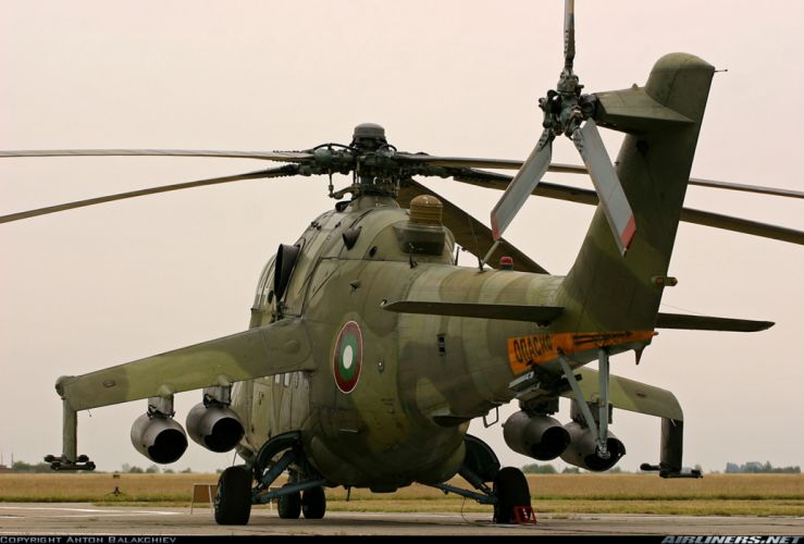 helicopter aircraft attack military army mil-mi wallpaper
