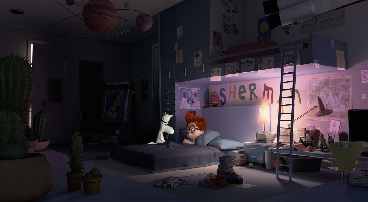 MR PEABODY AND SHERMAN animation adventure comedy family (2) wallpaper