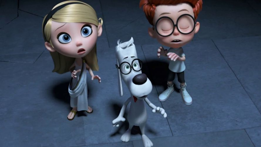MR PEABODY AND SHERMAN animation adventure comedy family (32) wallpaper
