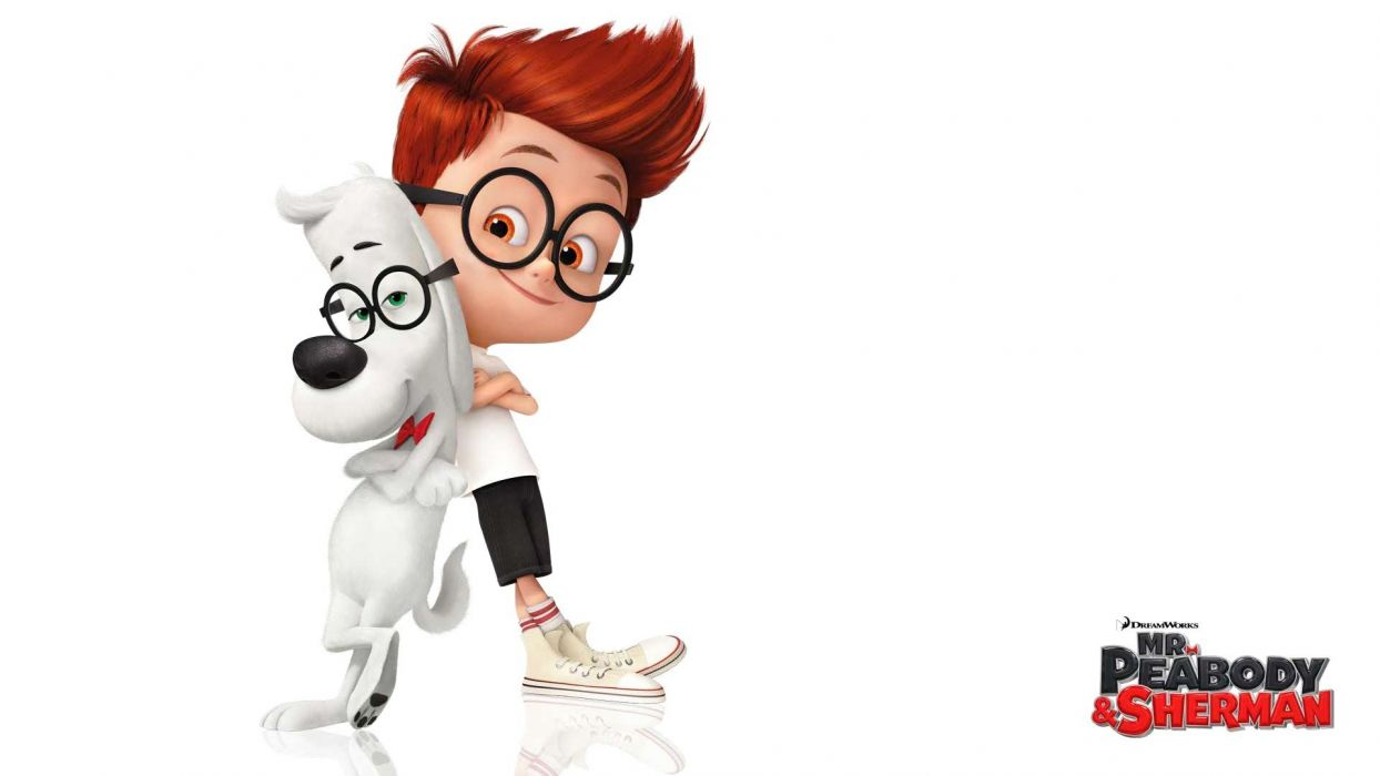 MR PEABODY AND SHERMAN animation adventure comedy family (35) wallpaper