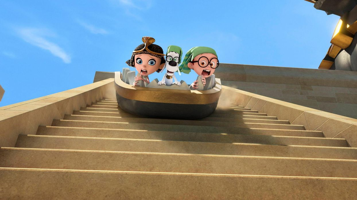 MR PEABODY AND SHERMAN animation adventure comedy family (43) wallpaper