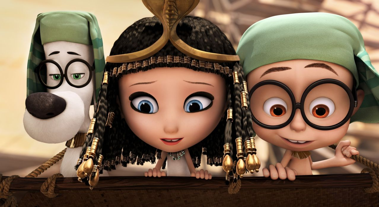 MR PEABODY AND SHERMAN animation adventure comedy family (46) wallpaper
