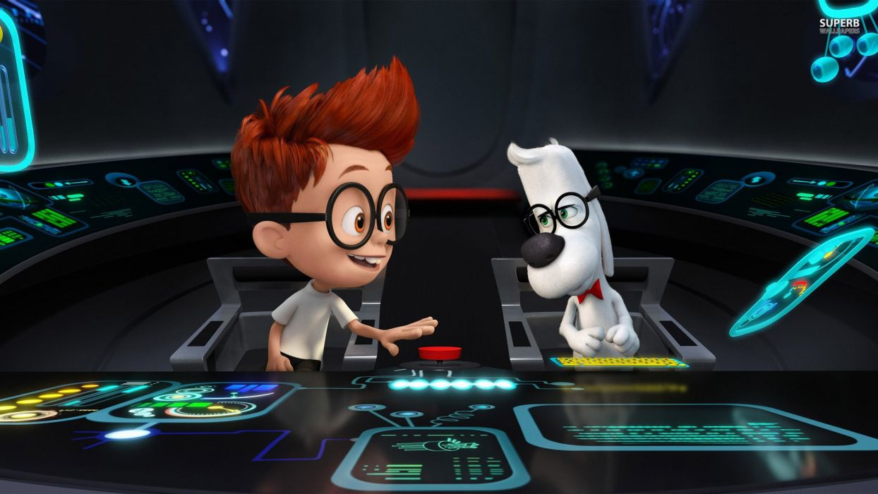 MR PEABODY AND SHERMAN animation adventure comedy family (53) wallpaper