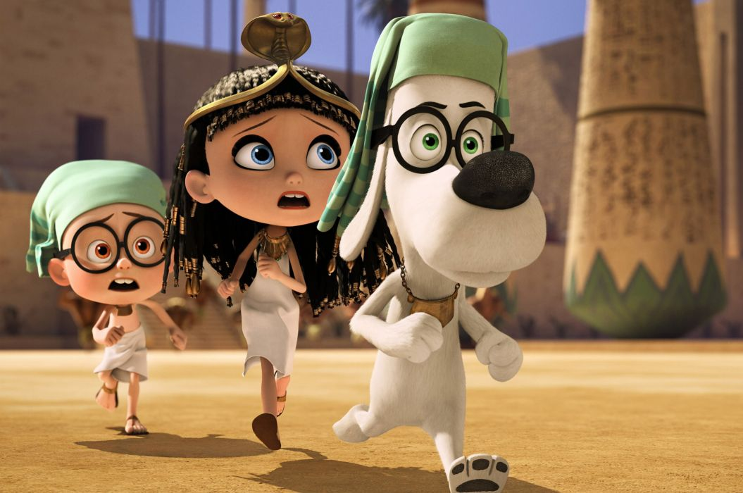 MR PEABODY AND SHERMAN animation adventure comedy family (49) wallpaper