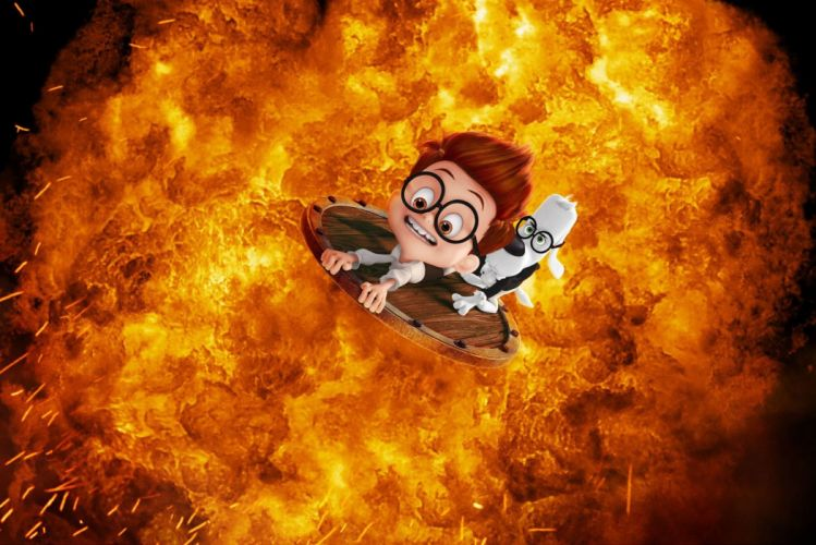 MR PEABODY AND SHERMAN animation adventure comedy family (56) wallpaper