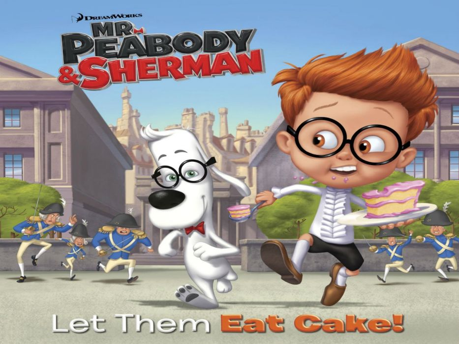 MR PEABODY AND SHERMAN animation adventure comedy family (62) wallpaper