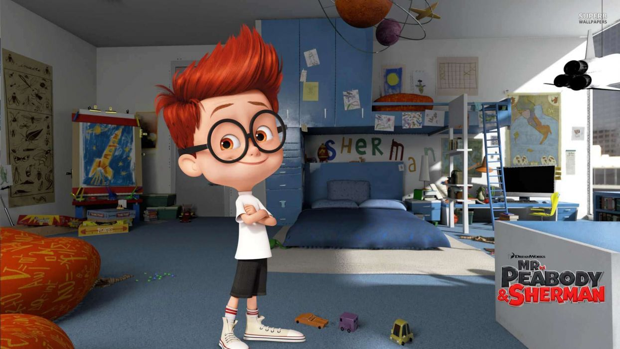 MR PEABODY AND SHERMAN animation adventure comedy family (65) wallpaper