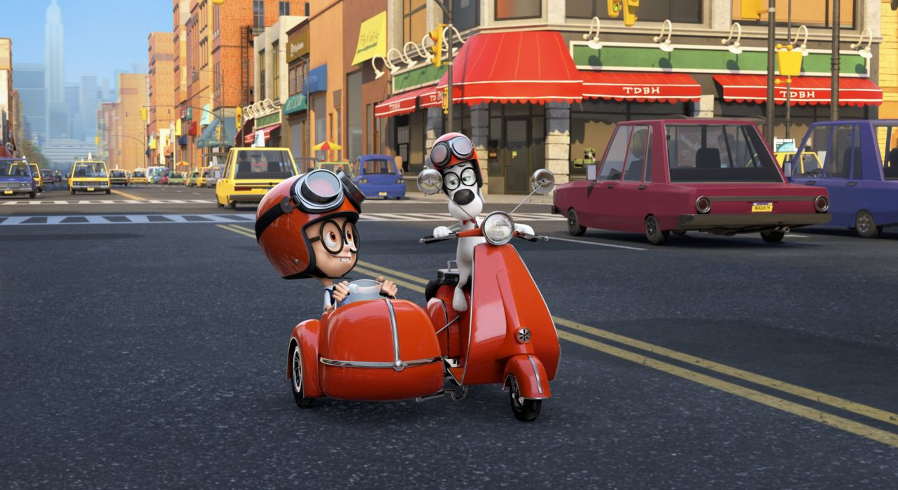 MR PEABODY AND SHERMAN animation adventure comedy family (66) wallpaper