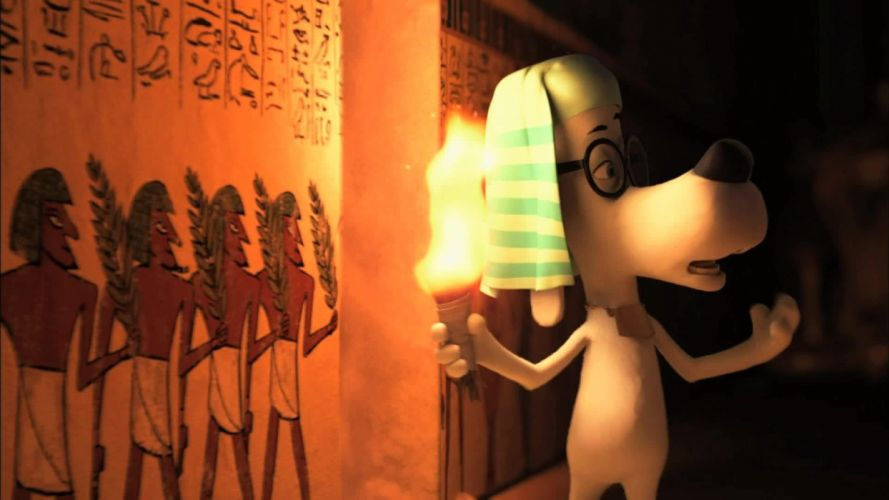 MR PEABODY AND SHERMAN animation adventure comedy family (70) wallpaper