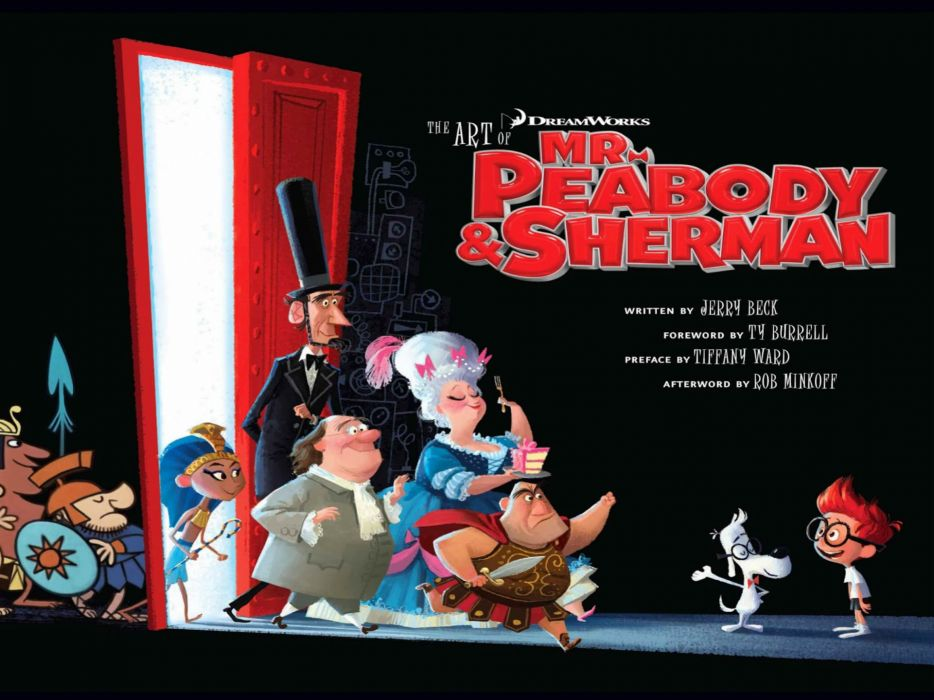 MR PEABODY AND SHERMAN animation adventure comedy family (72) wallpaper