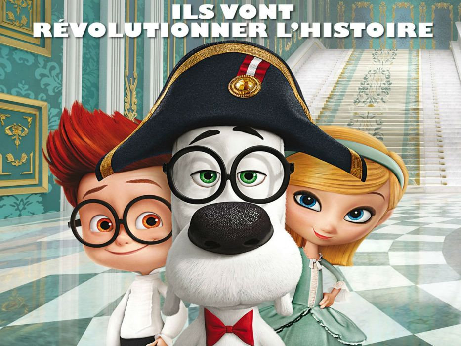 MR PEABODY AND SHERMAN animation adventure comedy family (76) wallpaper