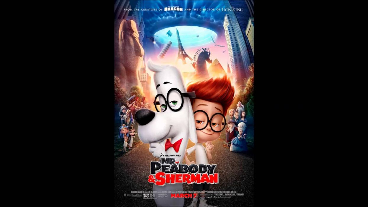 MR PEABODY AND SHERMAN animation adventure comedy family (83) wallpaper