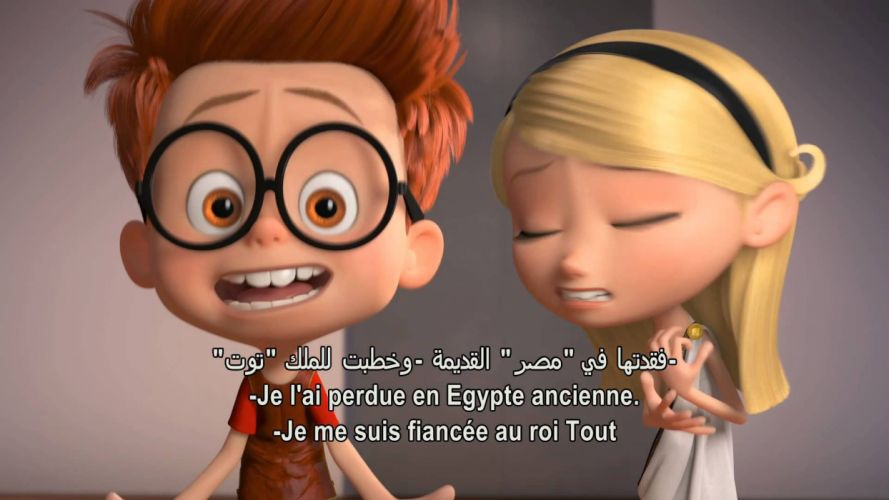 MR PEABODY AND SHERMAN animation adventure comedy family (84) wallpaper