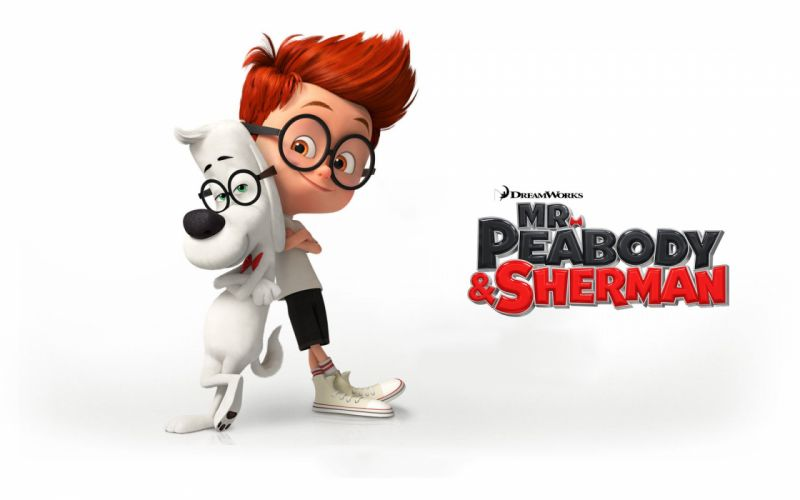 MR PEABODY AND SHERMAN animation adventure comedy family (92) wallpaper