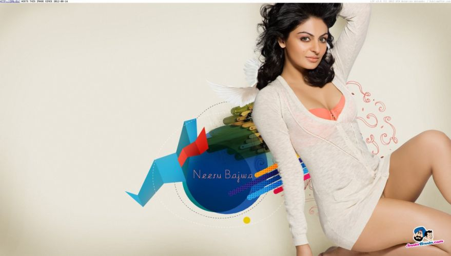 NEERU BAJWA bollywood actress model babe (8) wallpaper