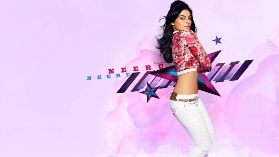 NEERU BAJWA bollywood actress model babe (20) wallpaper