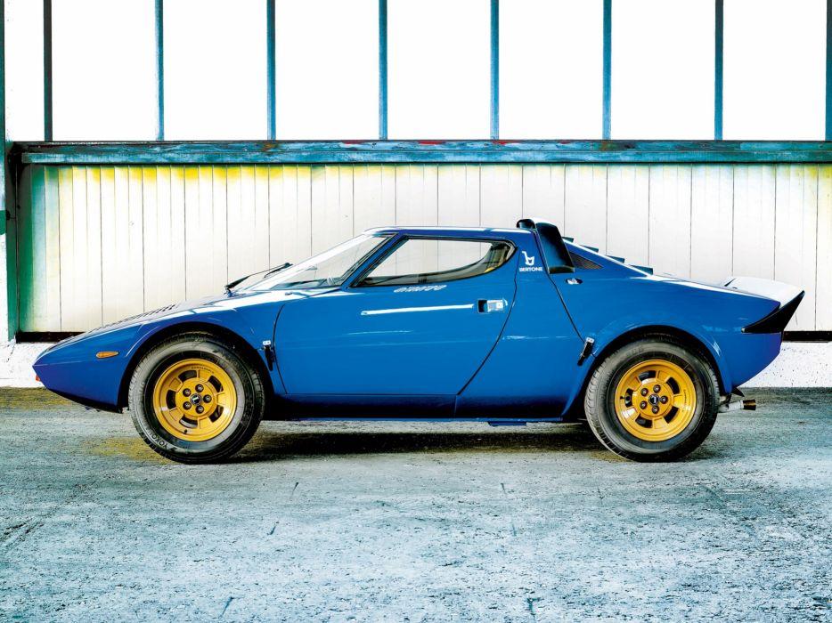 1973 Lancia Stratos-HF Car Italy Sport Supercar 4000x3000 2 wallpaper