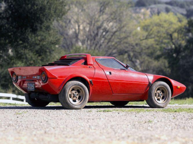 1973 Lancia Stratos-HF Car Italy Sport Supercar Red 4000x3000 7 wallpaper