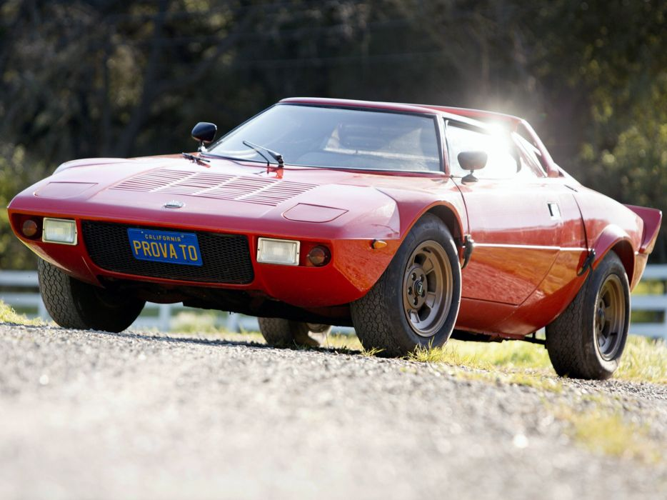 1973 Lancia Stratos-HF Car Italy Sport Supercar Red 4000x3000 8 wallpaper