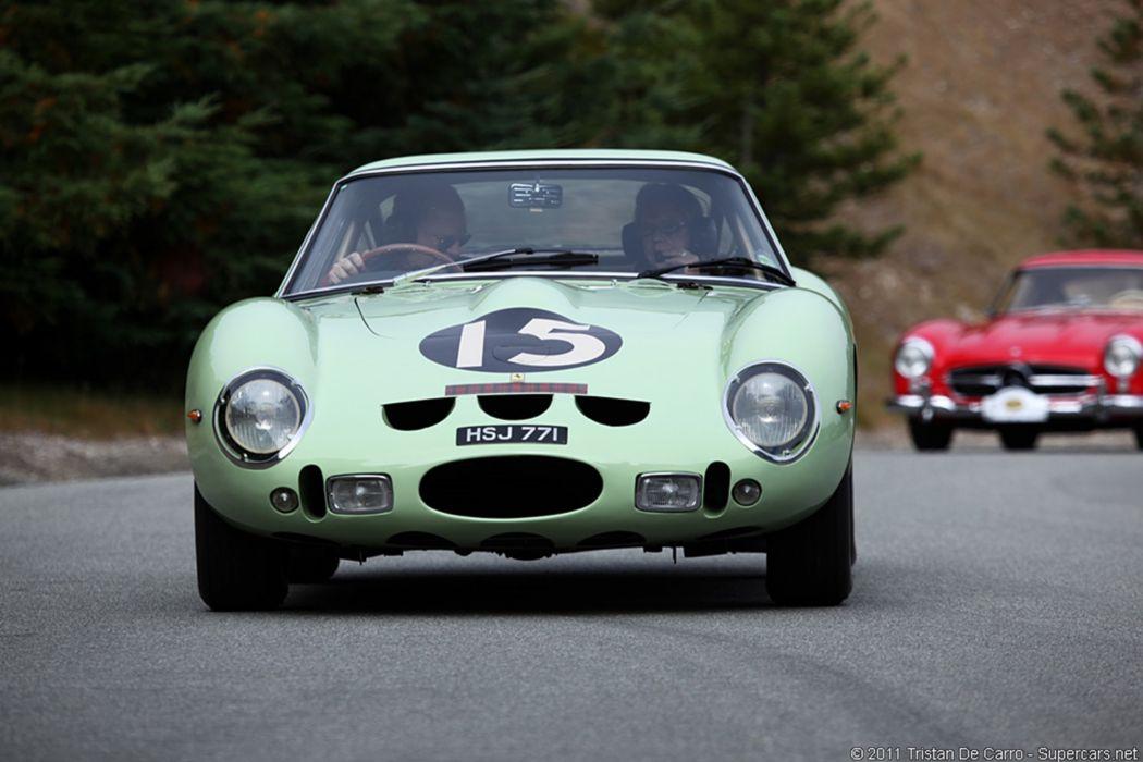 Ferrari GTO Race Car Racing Supercar Classic Italy 4 wallpaper