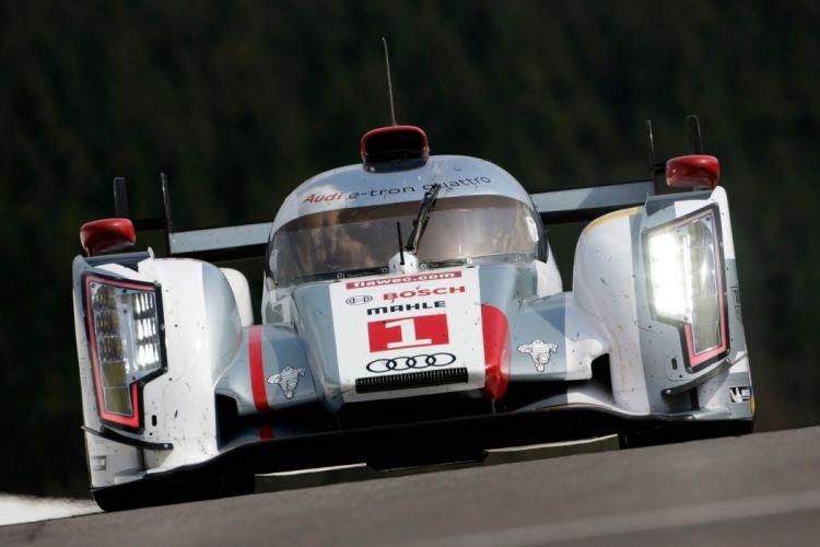 Race Car Racing Le-Mans Supercar LMP1 Audi Germany wallpaper