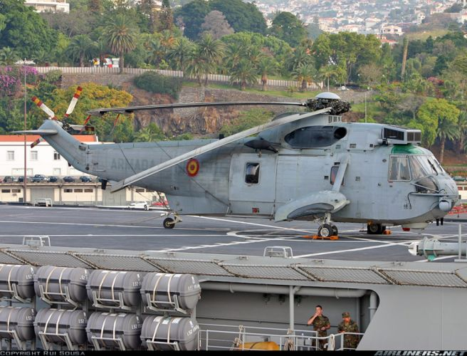 Helicopter Aircraft Military NavyTransport Spain wallpaper