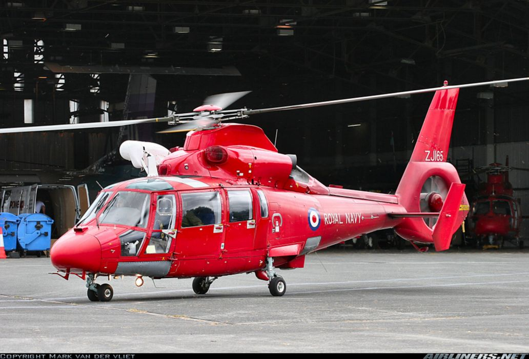 Helicopter Aircraft Military Royal Navy England Red wallpaper