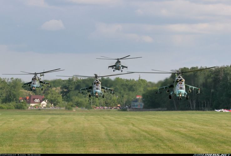 Helicopter Aircraft Military Army Attack Mil-Mi (2) wallpaper